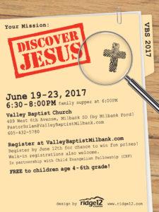 discover jesus_vbs_2017_quarter sheet